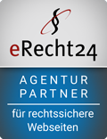 eRecht24-Siegel - Agenturpartner